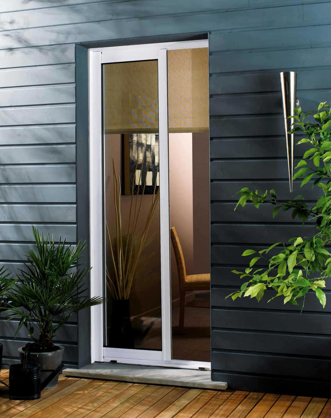 Porte vitree cuisine idee amenagement cuisine exterieure pt2 amnagement deco salon avec baie - Porte vitree exterieure ...