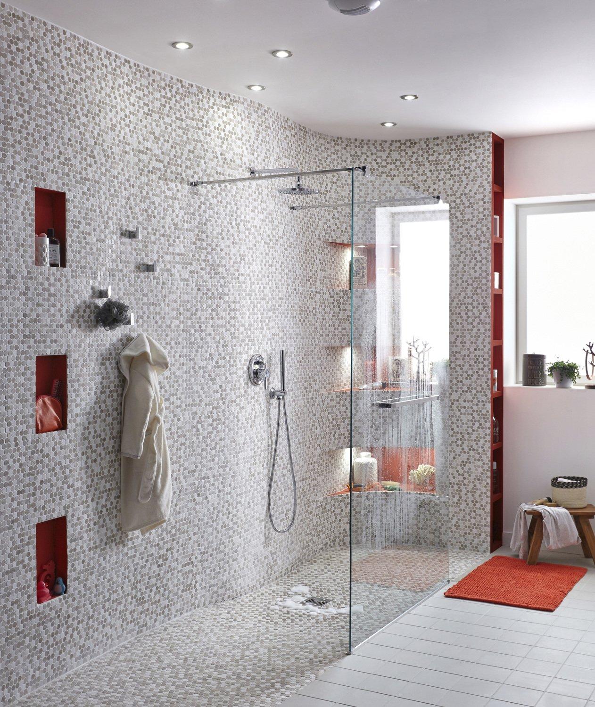 Donner du volume à votre douche italienne avec de la mosaïque en ...