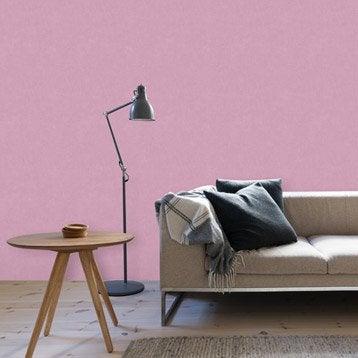 Papier peint intissé Beton mat rose