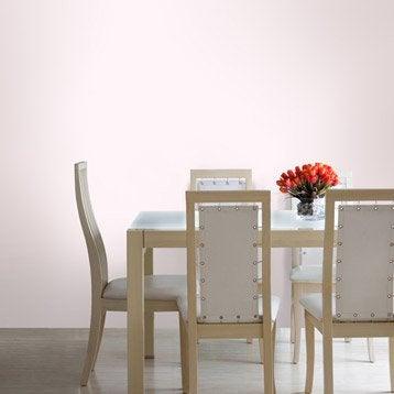 Papier peint intissé Textile nacré rose
