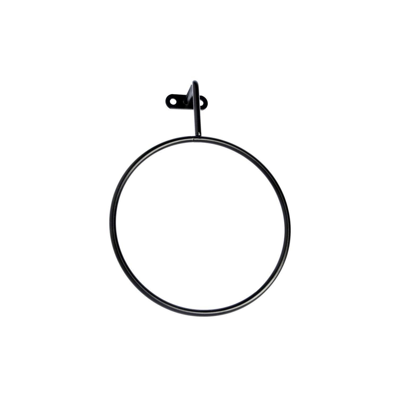 Porte-serviettes anneau black n°0