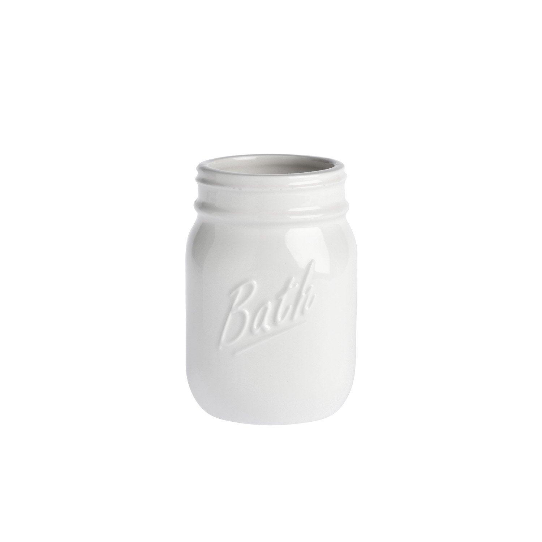 Gobelet porcelaine Pot parfait, blanc