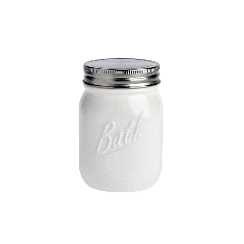 Boîte porcelaine Pot parfait, blanc