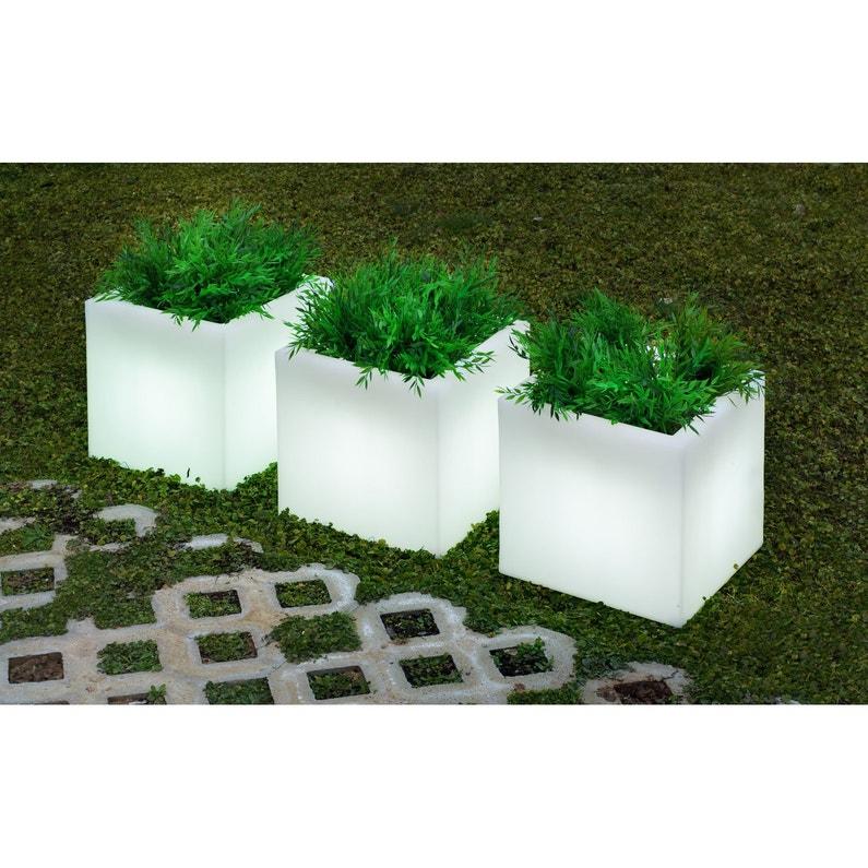 Pot Extérieure Lumnc040ofnw E27 Blanc Newgarden