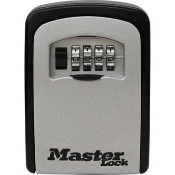 Minicoffre MASTERLOCK Select access à fixer, H.11.8 x l.8.3 x P.3.4 cm