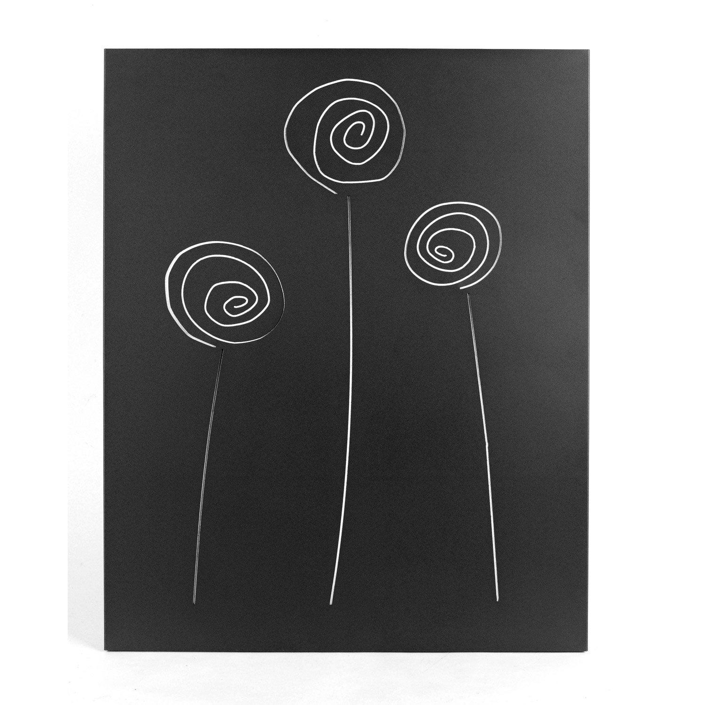 plaque de protection murale noir givr dixneuf s lene l. Black Bedroom Furniture Sets. Home Design Ideas