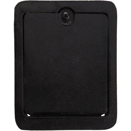 trappe de ramonage fonte noir dmo x cm. Black Bedroom Furniture Sets. Home Design Ideas