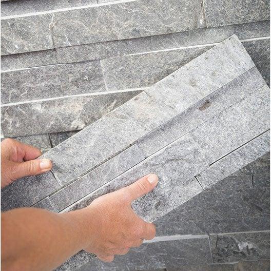 Comment poser des plaquettes de parement leroy merlin for Pose de plaquette de parement