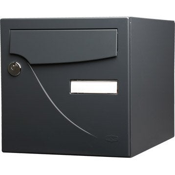 Bo te aux lettres normalis e collective barillet - Porte boite aux lettres normalisee ...