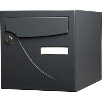 bo te aux lettres normalis e collective barillet au meilleur prix leroy merlin. Black Bedroom Furniture Sets. Home Design Ideas