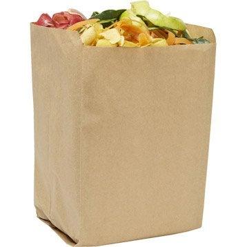 Lot de 5 sacs biodégradable GEOLIA 12 l