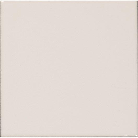 Fa ence mur blanc ivoire n 3 astuce x cm leroy merlin - Blanc comme l ivoire ...