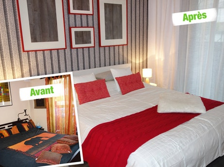 Les relookings de maison vendre sur m6 par emmanuelle for Relooking chambre parents