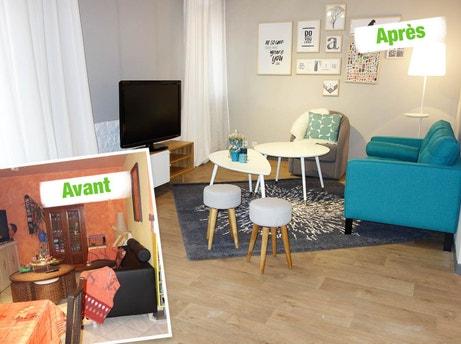 les relookings de maison vendre sur m6 par emmanuelle. Black Bedroom Furniture Sets. Home Design Ideas