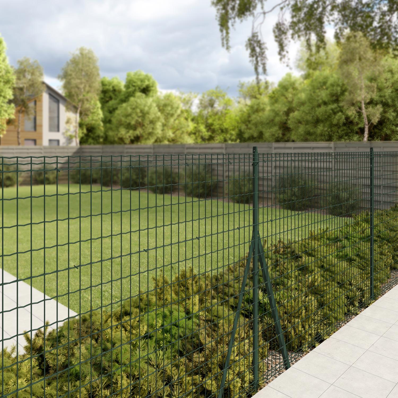 grillage rouleau soud luxor nature vert h. Black Bedroom Furniture Sets. Home Design Ideas