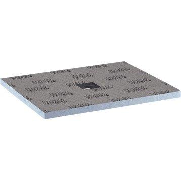 Receveur de douche à carreler rectangulaire L.120 x l.90 cm, LUX ELEMENTS Pack