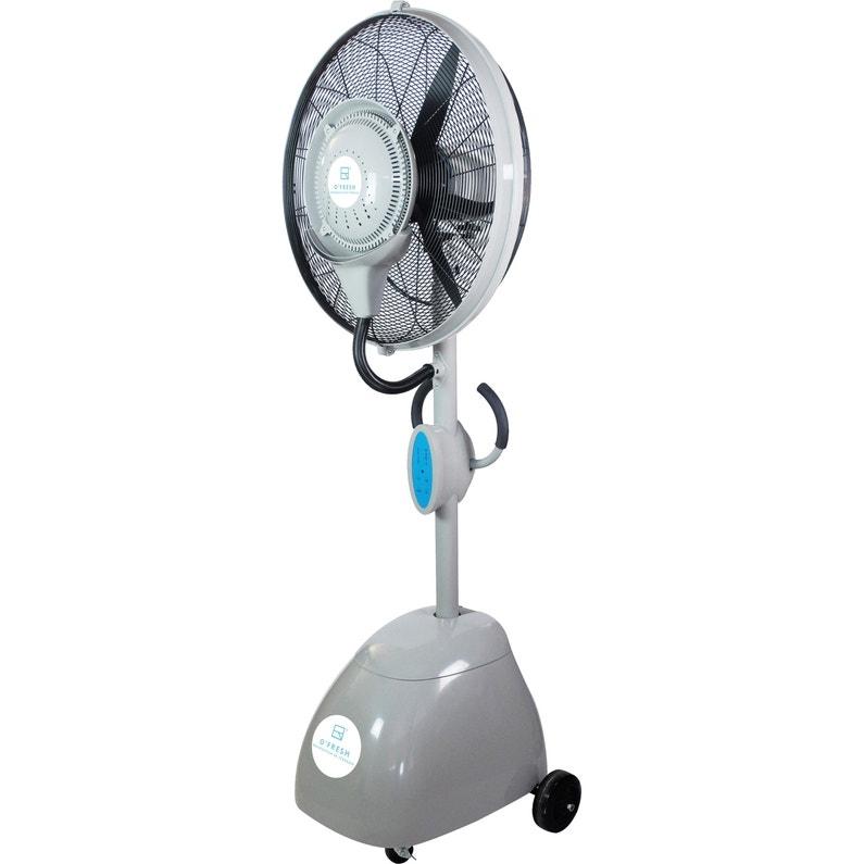 Ventilateur Brumisateur Sur Pied Ofresh 200 Cm 172 D 70 Cm 250 W