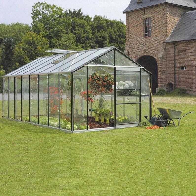 Serre de jardin en verre trempé Affinity, 18.236 m²
