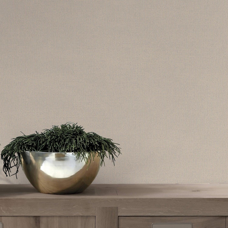 papier peint papier dulce paillette taupe leroy merlin. Black Bedroom Furniture Sets. Home Design Ideas