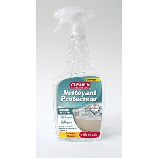 Produit nettoyant et protecteur 740 ml leroy merlin - Produit deperlant pour vitres ...