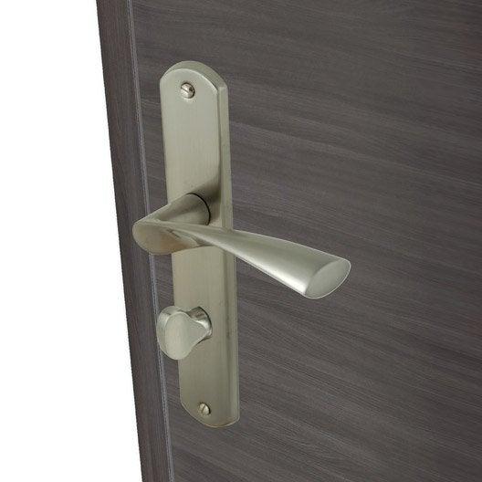 Poign e de porte int rieure poign e chambre wc salle - Leroy merlin nevers ...