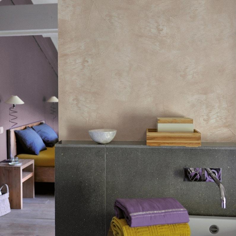Peinture à effet, Tadelakt LUXENS, gris gris 4, 5 l | Leroy Merlin