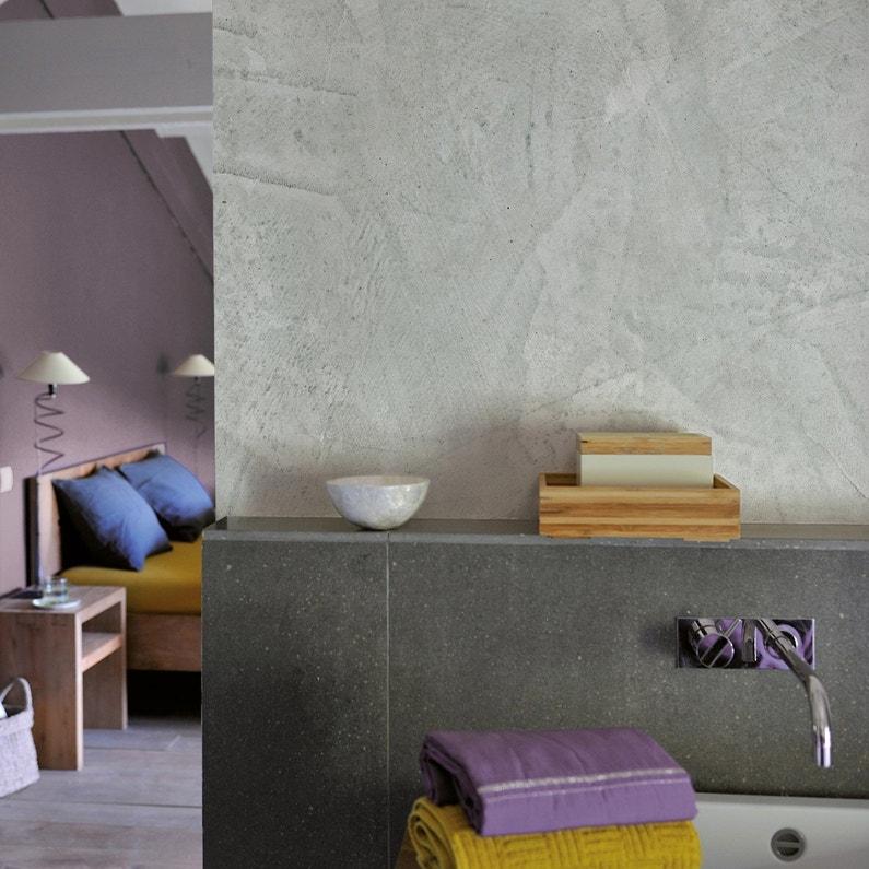 Peinture à effet, Tadelakt LUXENS, gris galet 6, 5 l