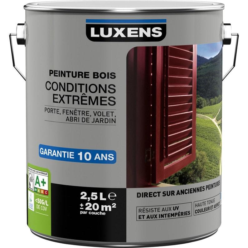 Peinture Bois Exterieur Conditions Extremes Luxens Bleu Provence