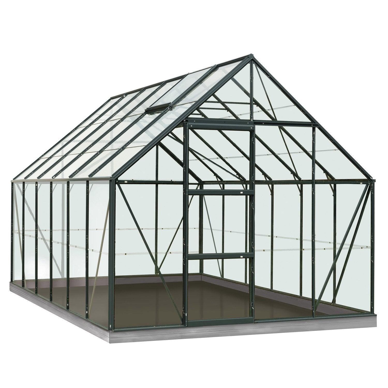 serre de jardin en polycarbonate simple paroi rainbow vert m leroy merlin. Black Bedroom Furniture Sets. Home Design Ideas