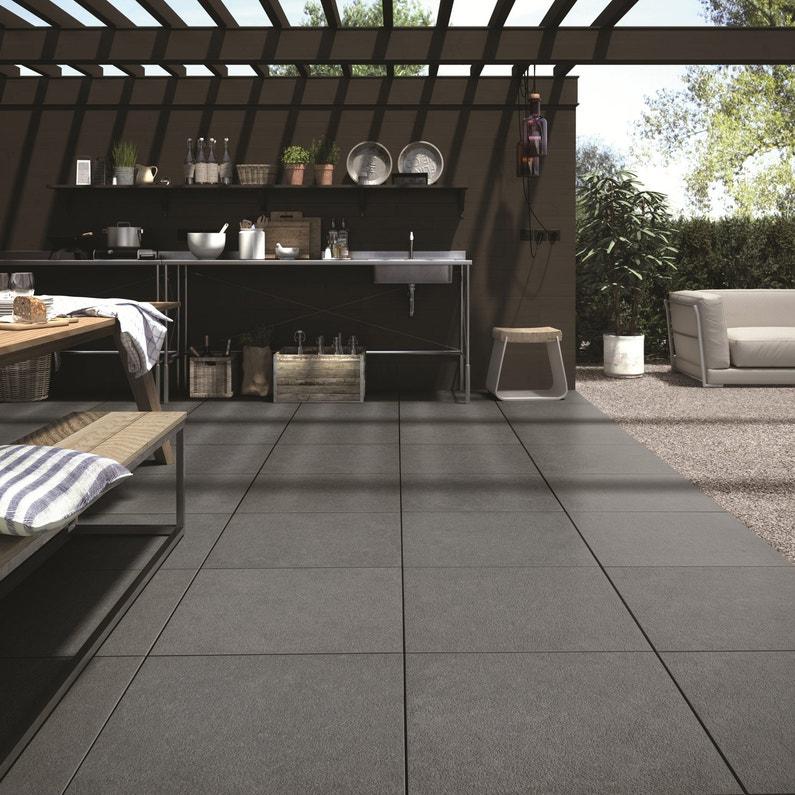 dalle gravillonn e 50x50 leroy merlin. Black Bedroom Furniture Sets. Home Design Ideas