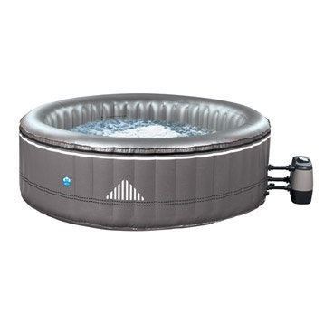 Spa gonflable POOLSTAR Malibu rond, 6 places assises