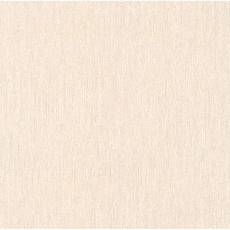 Papier peint expansé Uni fil Boutique beige rose