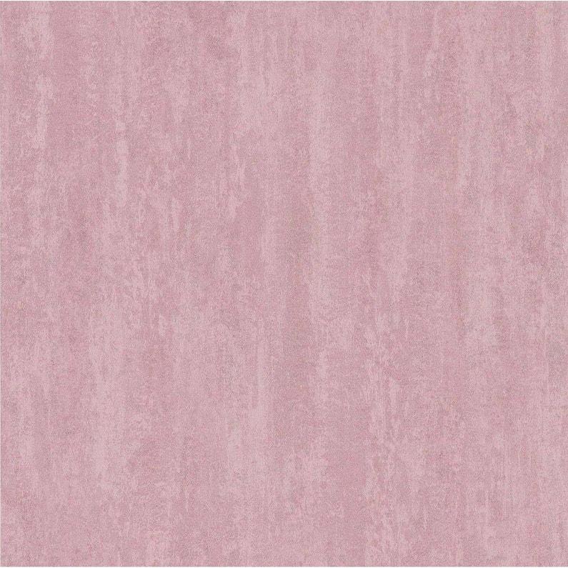 Papier Peint Expanse Uni Ecorce Glitter Rose Leroy Merlin