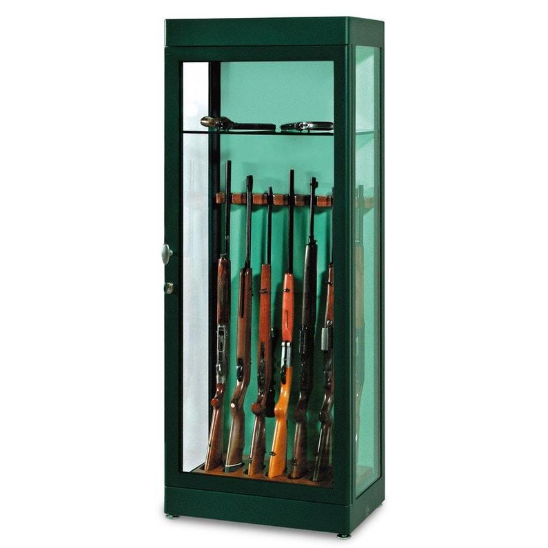 Vitrine Blindée à Clé 7 Fusils Technomax H180 X L70 X P45 Cm