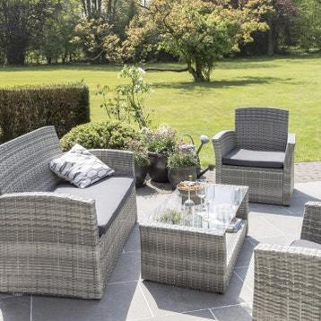 Salon de jardin, Mobilier de jardin au meilleur prix | Leroy ...
