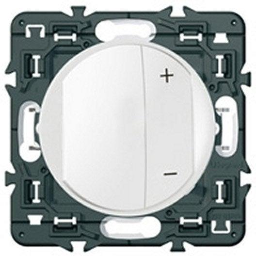 variateur universel c liane legrand blanc leroy merlin. Black Bedroom Furniture Sets. Home Design Ideas