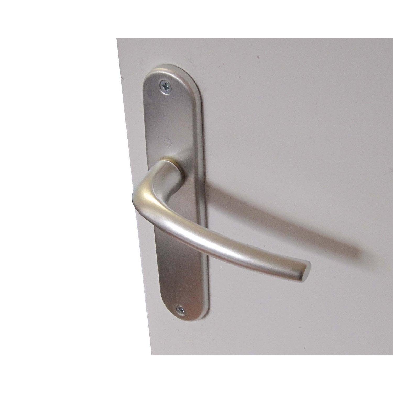 2 poign es de porte san diego sans trou aluminium 165 mm. Black Bedroom Furniture Sets. Home Design Ideas