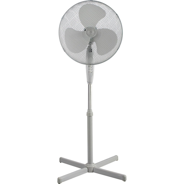 ventilateur sur pied equation altona2 d 40 0 cm 45 0 w leroy merlin. Black Bedroom Furniture Sets. Home Design Ideas