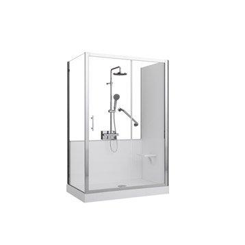 remplacer sa baignoire par une douche au meilleur prix leroy merlin. Black Bedroom Furniture Sets. Home Design Ideas