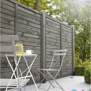 panneau barri re palissade leroy merlin. Black Bedroom Furniture Sets. Home Design Ideas