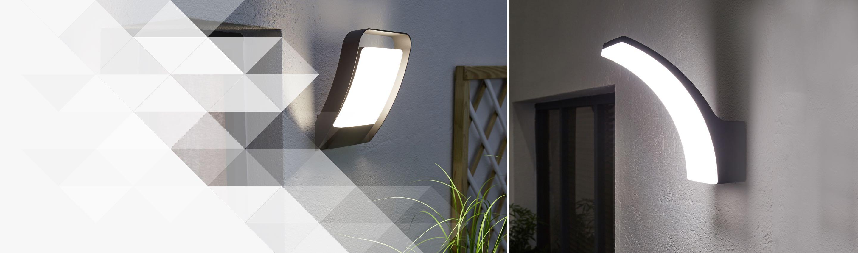 Du Design En LED Intégrée Pour Votre éclairage Extérieur