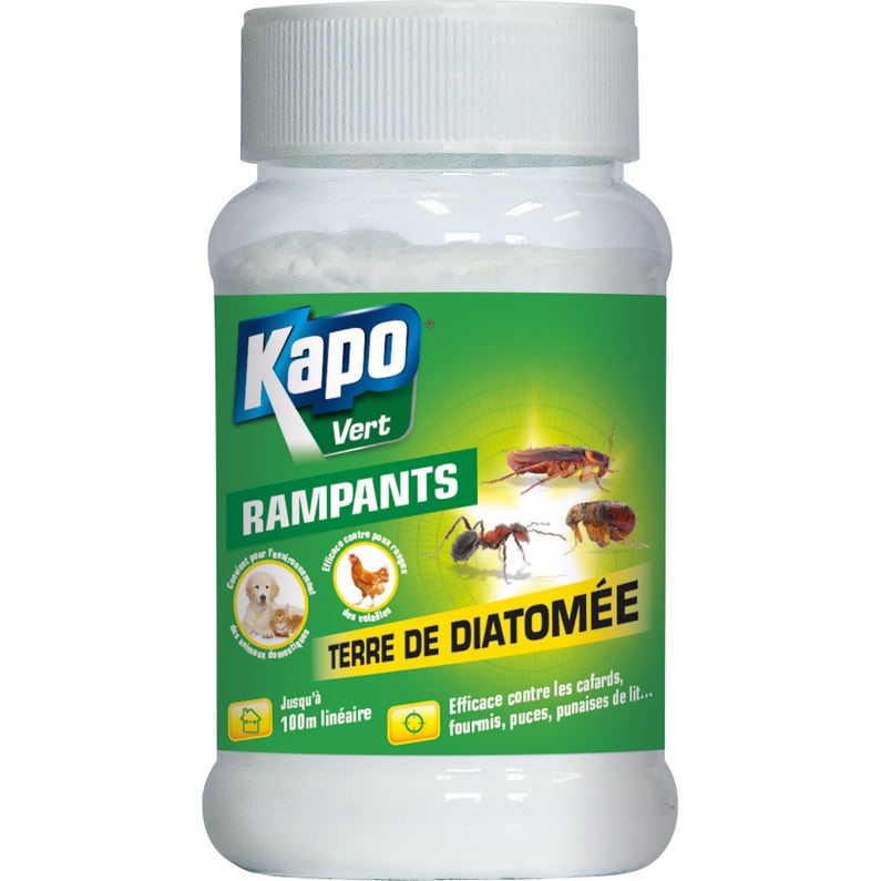 Terre De Diatomée Traitement Rampants Kapo 100 Gr