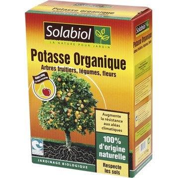 Engrais naturel potasse SOLABIOL 1,5kg 25 m²