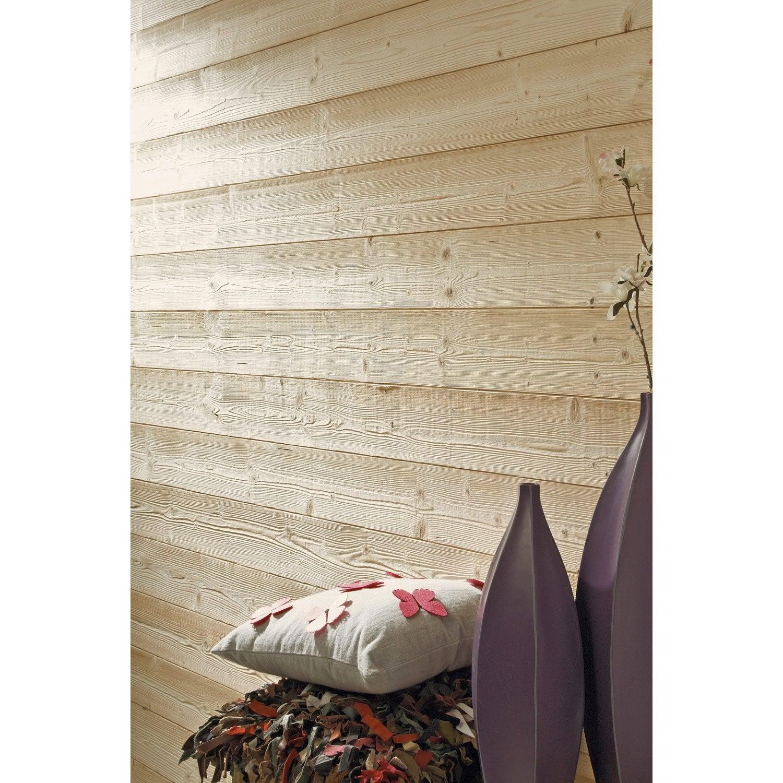 lambris sapin bross brut artens x cm. Black Bedroom Furniture Sets. Home Design Ideas