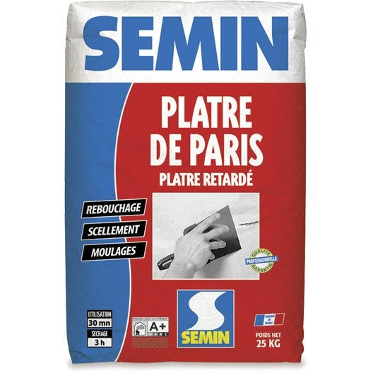 Plâtre SEMIN, 25 kg