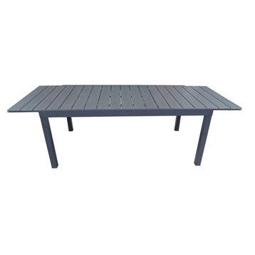 Table de jardin NATERIAL Pratt rectangulaire gris