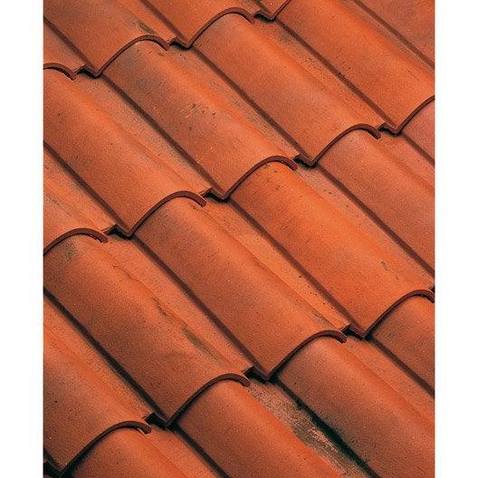 tuile imerys toiture rouge nuance 104 omega 10 leroy merlin. Black Bedroom Furniture Sets. Home Design Ideas