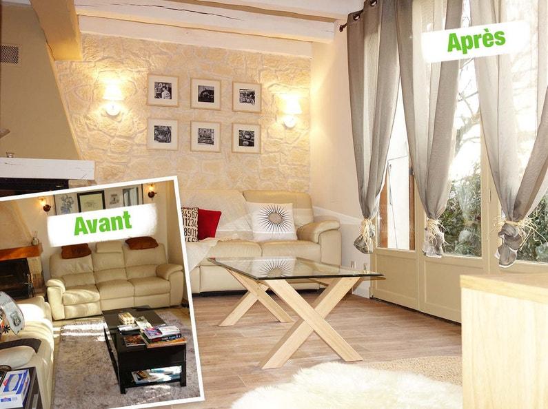 relooking du salon recoloris leroy merlin. Black Bedroom Furniture Sets. Home Design Ideas