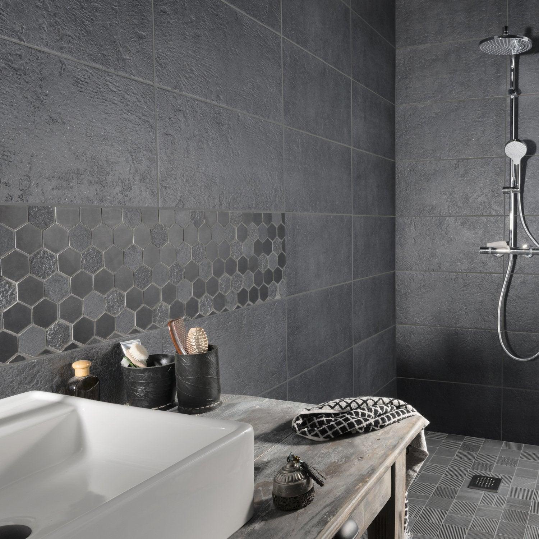 Awesome Mosaique Ardoise Salle De Bain Contemporary - House Design ...