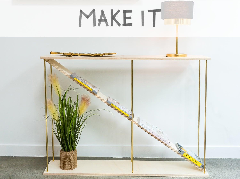 DIY : Créer une console d'appoint